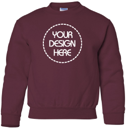 d14c4d4c Custom Youth Sweatshirts & Hoodies - Design Custom Kids Sweatshirts ...