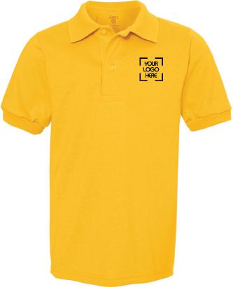 Kids Jersey Polo Shirt