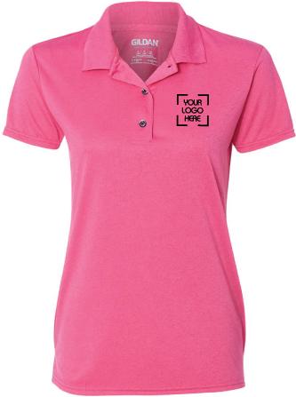 Women's Wicking Jersey Polo Shirt