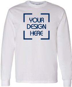 d56132965 Long Sleeve Shirts - Custom Printed Long Sleeve Shirts - Create Your ...