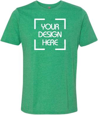 Poly/Cotton Crewneck T Shirt