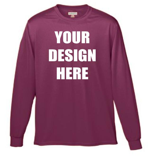 Design Online Custom Printed Augusta Sportswear
