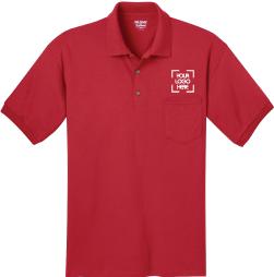 Pocket Polo Collar Shirt