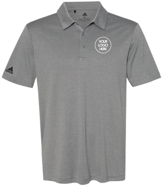 Heathered Sport Polo Shirt