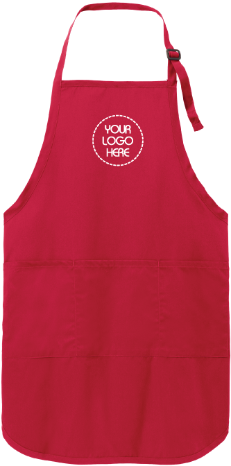 Easy Care Apron | Full-Length | Stain Release