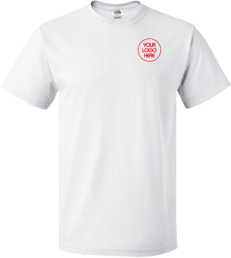 Embroidered Basic Tee | 100% Cotton T-Shirt