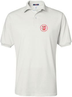 Embroidered 50/50 Jersey Polo Shirt