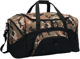 Super Value and Room to Spare Camo Duffel