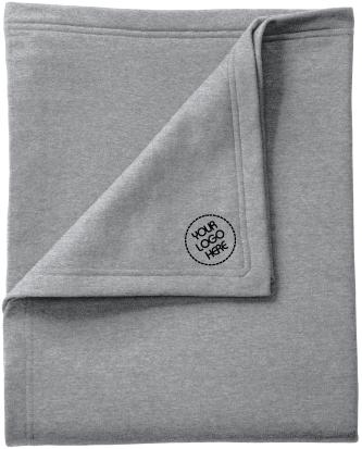 Core Fleece Blanket | Classic Look | Cozy Comfort