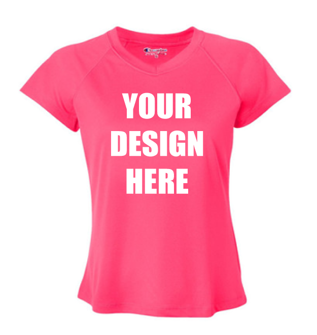 Design Online Custom Printed Champion Double Dry Women 39 S V