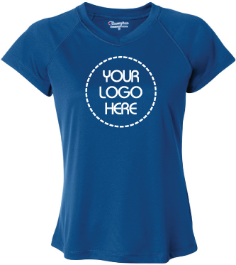 Double Dry Womens V-Neck Performance T-Shirt