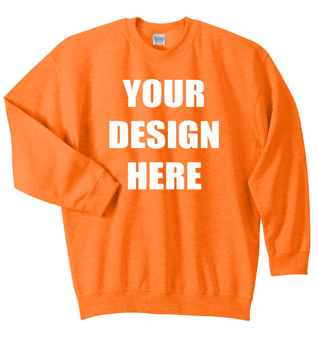 Design Online Cheap Custom Embroidered Gildan Best Selling Crew