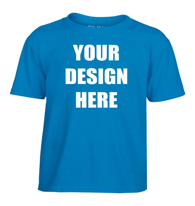 Design Online Custom Printed Gildan Performance Youth T