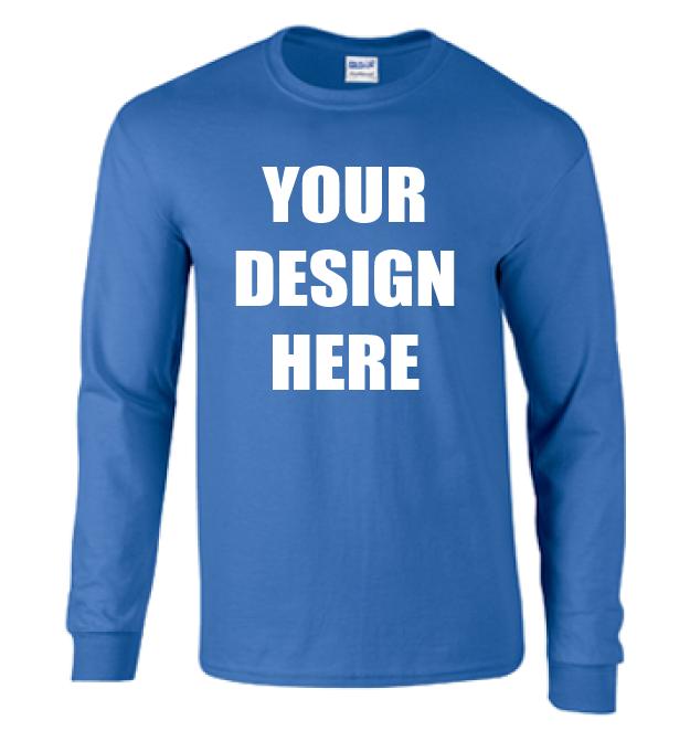 Long sleeve shirts custom printed long sleeve shirts for Customize your own long sleeve shirt