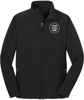 Soft Shell Jacket w/ Fleece Lining