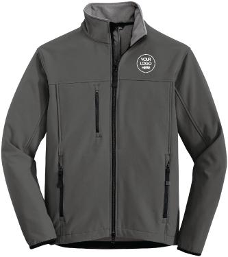 Corporate Soft Shell Jacket | Water Repellent Nylon Shell | Mirco Fleece Lining
