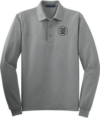 Silky Long Sleeve Polo Shirt | For Work and Play