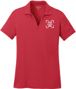 Ladies 100% Wicking Polyester Sport Shirt | Activewear When Performance Matters