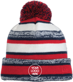 Sideline Pom Beanie | Fleece Lined