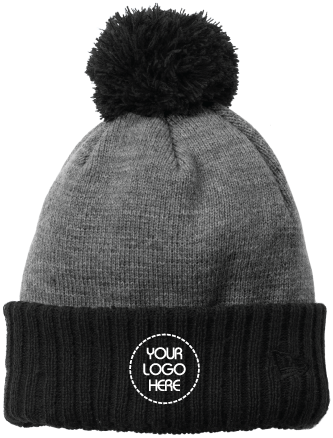 Fleece Lined Winter Beanie | Two-Toned
