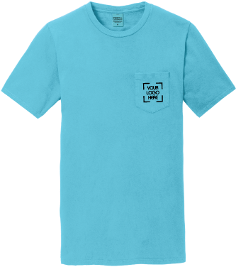 Pigment-Dyed Pocket Tee | T-Shirt