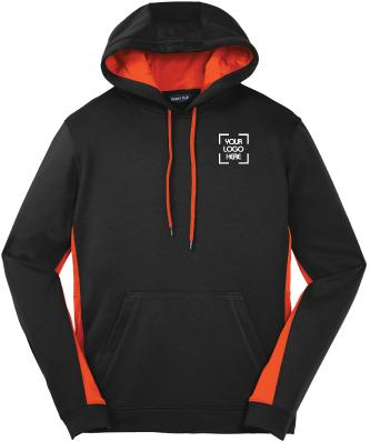 Colorblock Hooded Pullover | Sport-Wick Hoodie