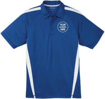 Moisture Wicking Colorblock Polo Shirt | Snag & Odor-Resistant