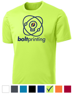 100% Polyester Wicking T Shirt